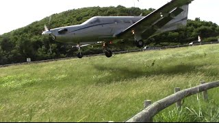 CRAZY LOW AIRPLNES St Barts Plane Spotting 2014 Day 1