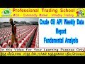 Commodity Market : Crude Oil - Fundamental Analysis - API Weekly Crude Oil Stock Reports - In Tamil