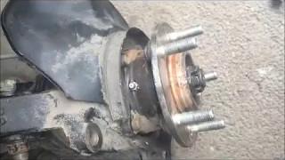 Доработка ступицы Hyundai Santa Fe - масленка для смазки.