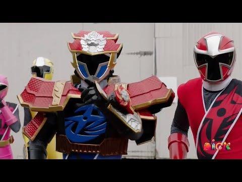 "Power Rangers Super Ninja Steel - Lion Fire Blue Ranger vs Tynamon | Episode 18 ""Magic Misfire"""