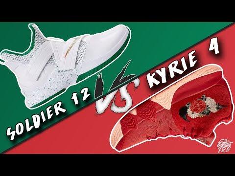 Nike Lebron Soldier 12 vs Kyrie 4!