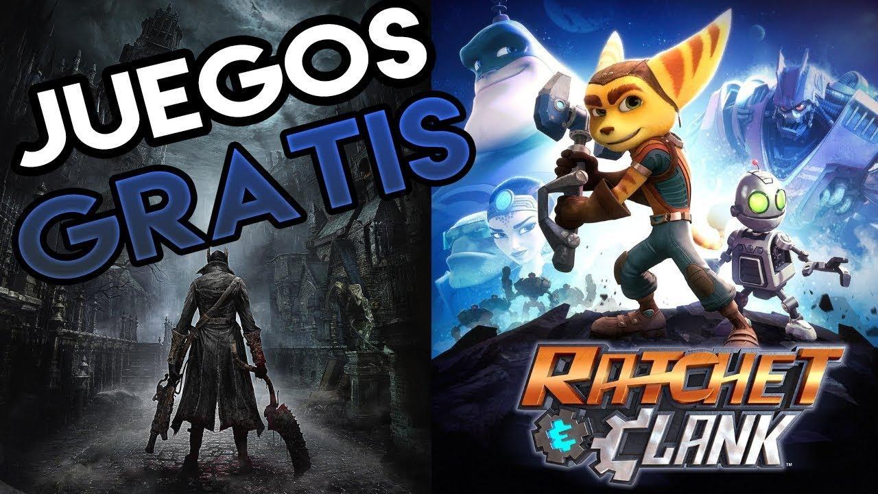 Juegos Plus Gratis Marzo 2018 Ps4 Bloodborne Ratchet Clank