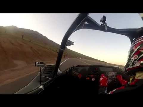 Toyota TMG EV P002 @ Pikes Peak 2012 - Day 2 Practice Run to the finish line