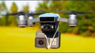 DJI Spark Hack to Film in 4K!  Will it work?!  Drone Flight Friday! [4K]