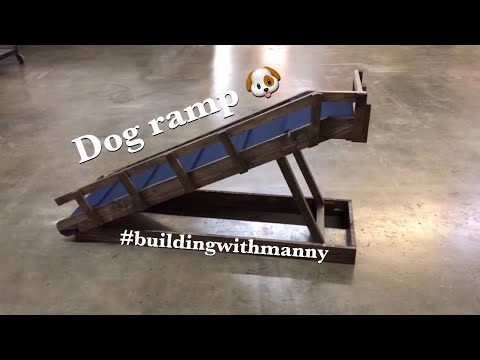 HOW TO MAKE A DOG RAMP | BUILDING WITH MANNY