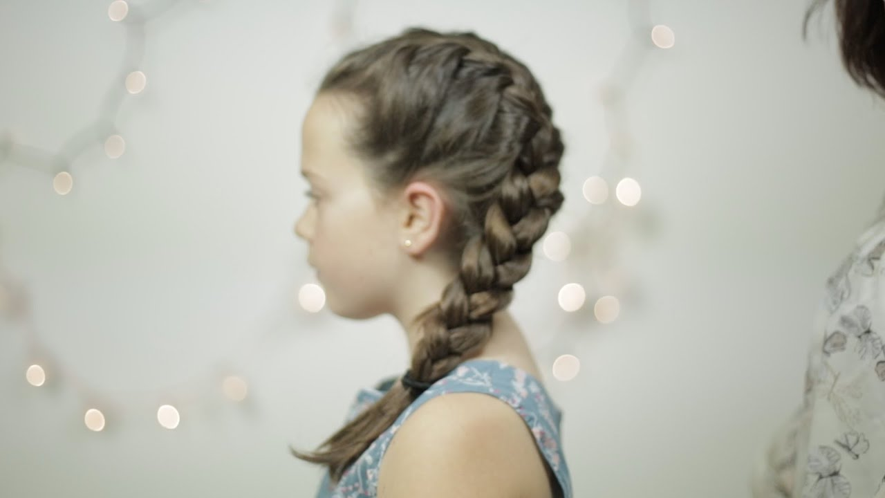 How to: Quick and Easy Frozen Hairstyle - Elsa Plait/Braid Tutorial ...