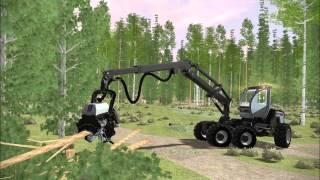 Mevea Forestry Simulator 2014