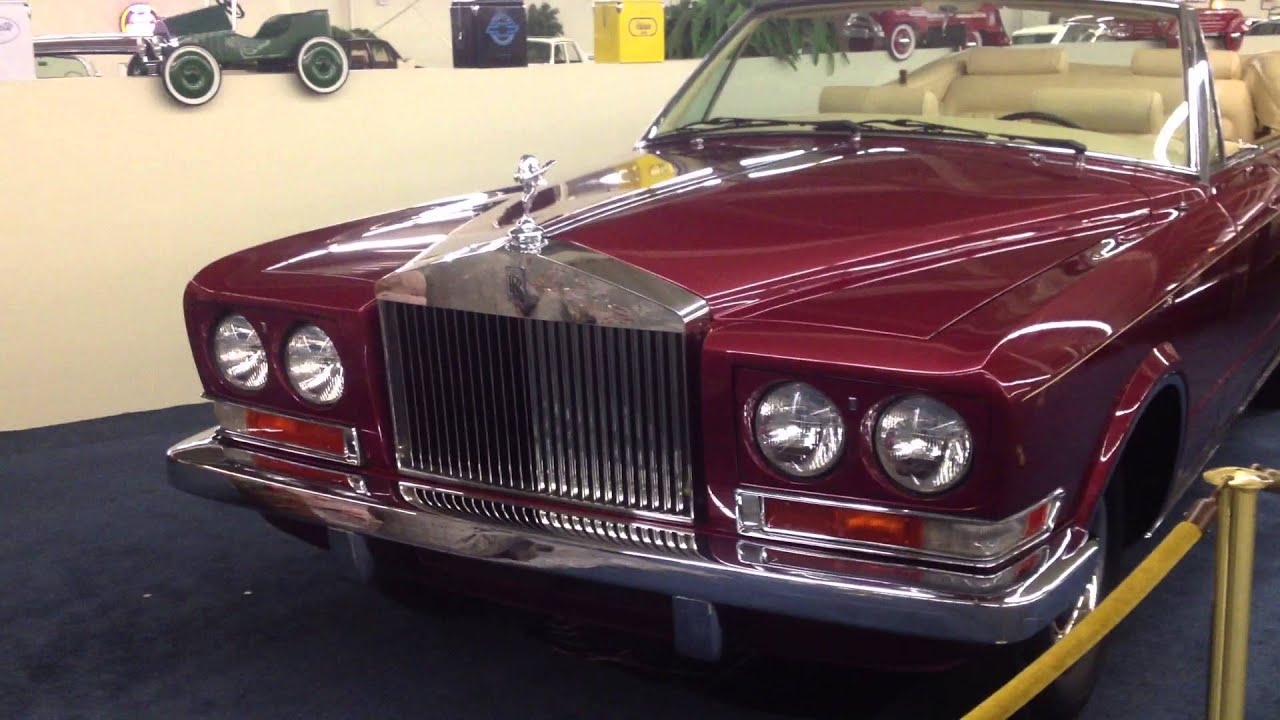 1977 Rolls-Royce Phantom VI Frua Cabriolet For Sale - YouTube