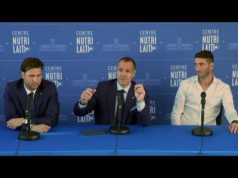Conférence de presse intégrale - Nacho Piatti renouvelle avec l'Impact