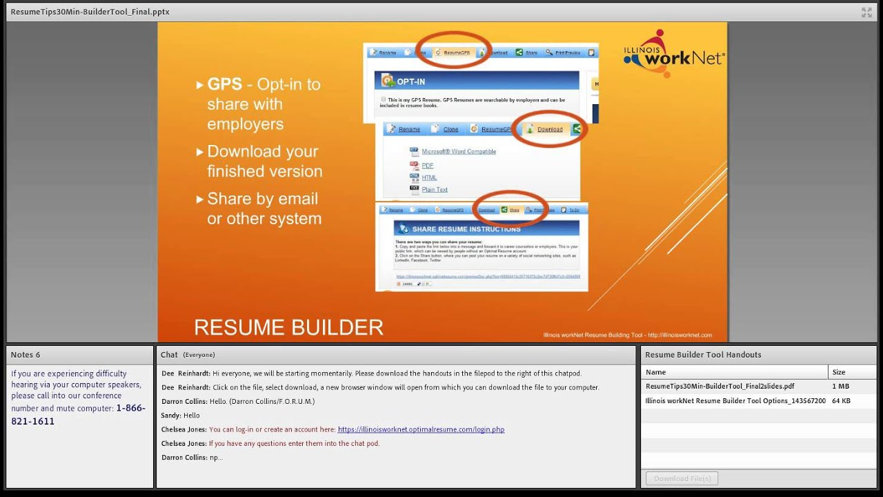 resume builder in 15 minutes
