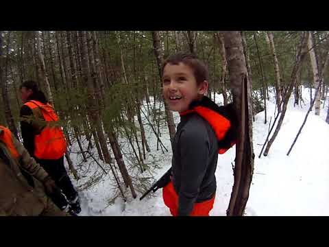 Maine Snowshoe Hare Hunt