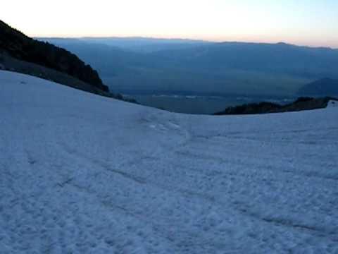 Mt. Owen - Koven Route from Teton Glacier