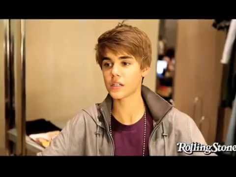 Justin Bieber on Rolling Stone Magazine