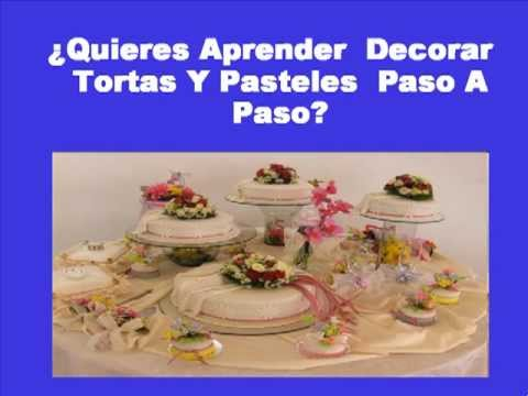 Aprende como decorar un pastel youtube for Como decorar un bizcocho