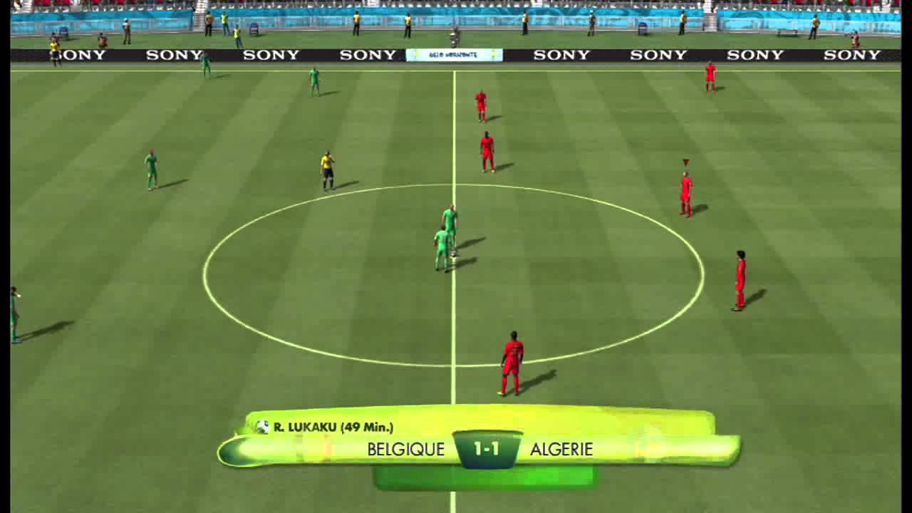 Fifa coupe du monde au bresil 2014 match 1 belgique - Algerie allemagne coupe du monde 2014 ...