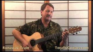 Soul Asylum - Runaway Train Guitar lesson