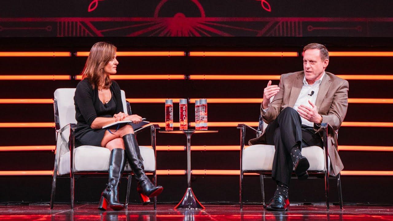 Admiral Michael Rogers Interviewed by Niloofar Razi Howe | Upfront Summit 2020