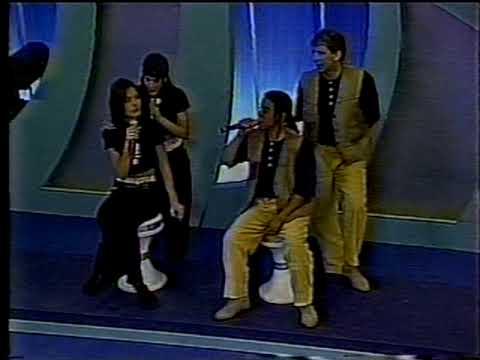 Paquitas new generation no programa Raul Gil-parte 2/4