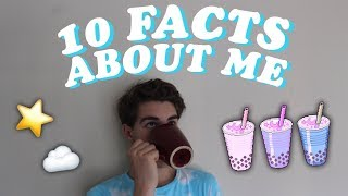 10 Facts About Me! // Connor Nelson