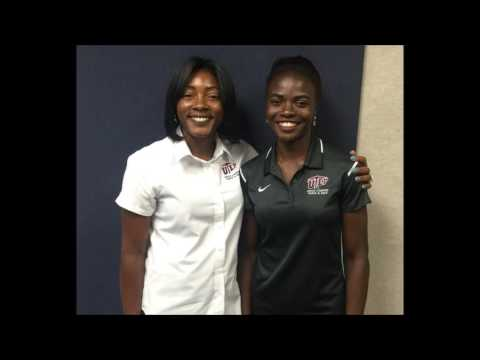 Lacena Golding Clarke and UTEP Hurdler Tobi Amusan Ready for Olympics