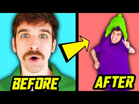 DANIEL GIZMO TRANSFORMS! Spy Ninjas Compete in Funny Challenges for 24 Hours to Pick One Color!