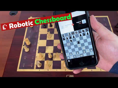 Square Off Grand Kingdom Set Robotic Chessboard with Analysis, Online Play ► Gadgetify