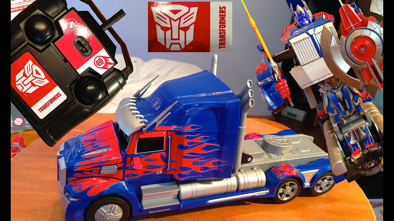 New Remote Control Autobot Optimus Prime Rc Transformer