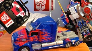 New Remote Control Autobot Optimus Prime (RC) Transformer - Transformers 4 Age Of Extinction