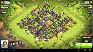 Clash of Clans Full Duvar Yıkıcı Saldırısı (125 Duvar Yıkıcı)