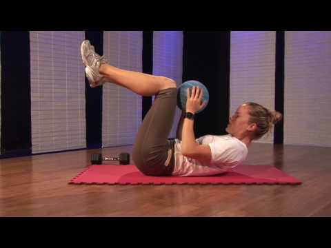 Medicine Ball Ab Workout Exercises