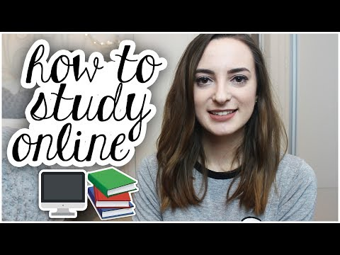 HOW TO STUDY AN ONLINE, PART TIME UNIVERSITY DEGREE