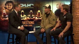 Actor Jim Caviezel and Tim Ballard of Operation Underground Railroad - 3 Questions with Bob Evans
