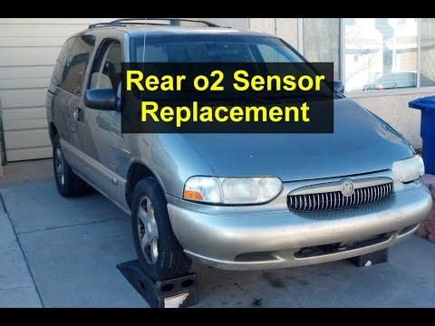 Rear, down stream o2 sensor replacement on Mercury Villager, Nissan Quest – VOTD
