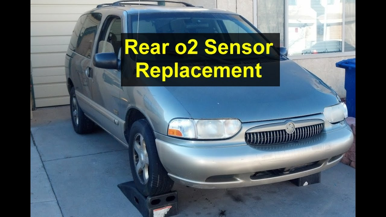 small resolution of rear down stream o2 sensor replacement on mercury villager nissan quest votd