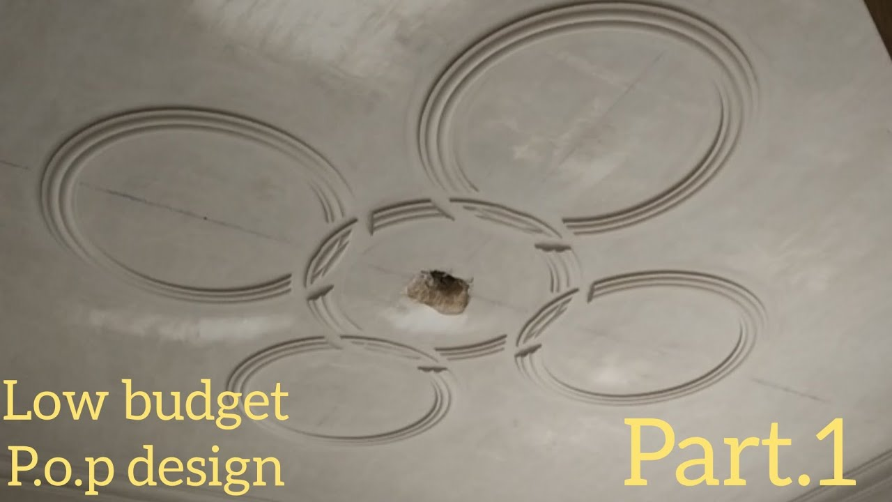 Low budget 1 - simple p o p design for Bedroom / Rk p o p contractor