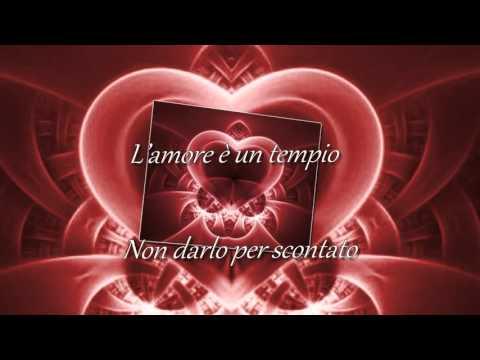 L'amore è un tempio Mario Biondi   ( testo italiano )