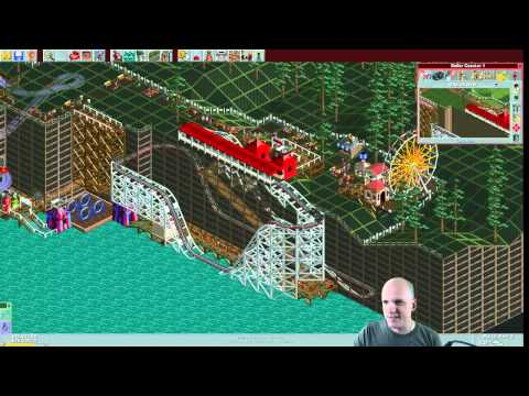 Rollercoaster Tycoon Scenario #7: Whispering Cliffs