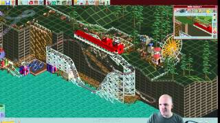 Rollercoaster Tycoon Scenario #7: Whispering Cliffs