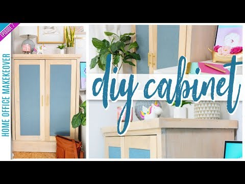 DIY Furniture - How to Build a Cabinet / Sideboard Part 2
