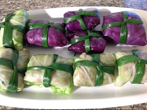 How To Stuffed Cabbage-Canh Bap Cai Cuon Thit-Vietnamese Food Recipes