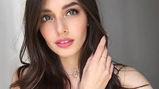 Natural Bronze Eye and Pink Lip Tutorial | Jessica Clements thumbnail