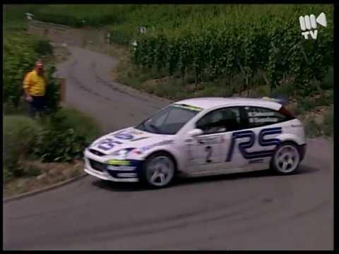 2001 Rallye Deutschland Delecour Ford Focus