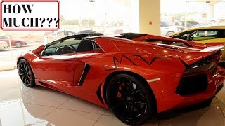 How much is MoVlogs Aventador? - Deals on Wheels Dubai