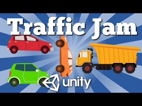 How to make simple Traffic Jam type game for Android platform with Unity. Easy quick tutorial.