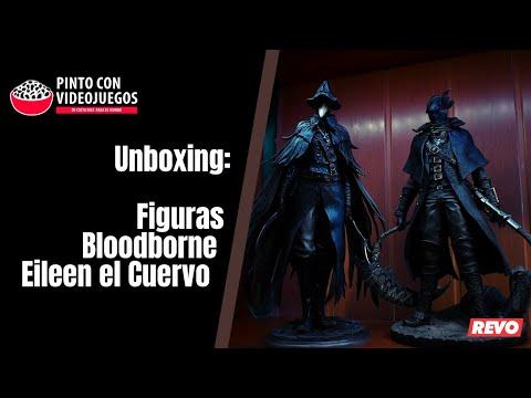 ¡UNBOXING! Eileen El Cuervo - Figuras Bloodborne