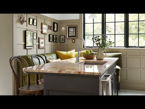 Interior Design — Warm Bistro Kitchen Makeover