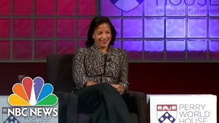 Susan Rice: 'I Was In The Same Age Cohort As Those Georgetown Prep Boys' | NBC News