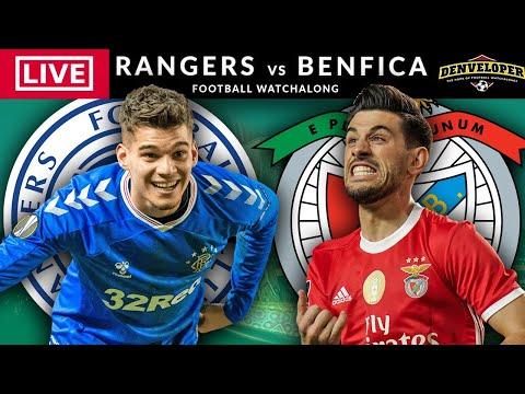 RANGERS vs BENFICA - LIVE STREAMING - Europa League - Live Football Watchalong