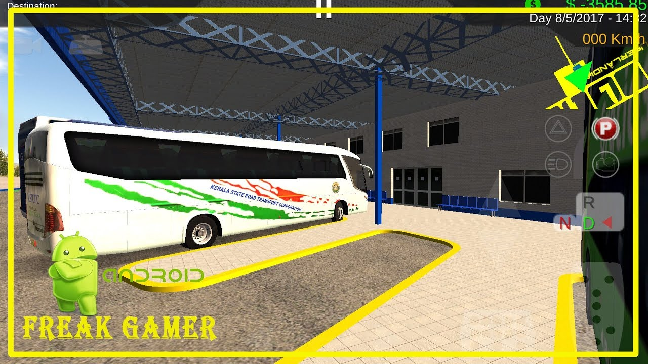 Ksrtc Indian Bus Mod For Android Bus Simulator Hbs Youtube