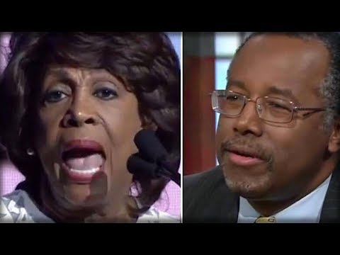 MUST WATCH: INSANE DEBATE BETWEEN CARSON AND WATERS PROVES THE WORST ABOUT MAD MAXINE